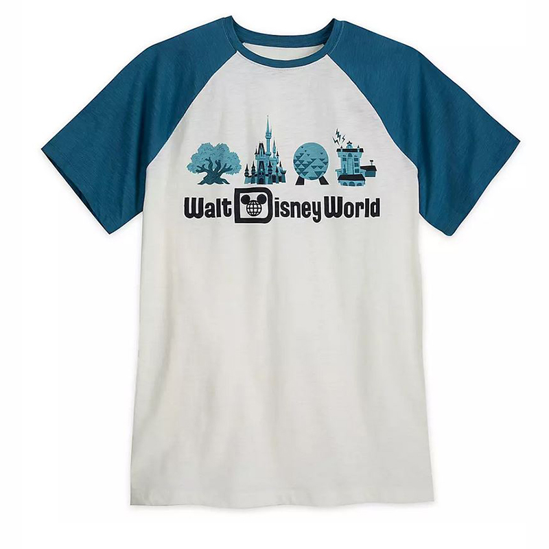 Disney Men's Shirt - Walt Disney World - Raglan Tee
