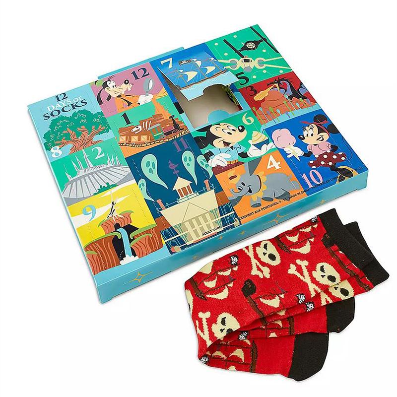 Disney Adult Socks Mickey Mouse And Friends Disney Parks 12 Days Of Socks Set