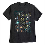Disney Adult Shirt - The World of Pixar