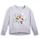 Disney Women's Pullover - Mickey Mouse & Friends - Walt Disney World