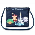 Disney Crossbody Bag - Walt Disney World Park Icons