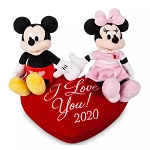 Disney Plush - Mickey & Minnie Mouse - I Love You 2020
