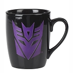 Universal Coffee Cup Etched Mug - Decepticon Shield