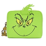 Universal Loungefly Zip Around Wallet - The Grinch