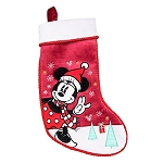 Disney Christmas Stocking - Minnie Mouse Holiday Stocking