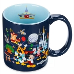 Disney Coffee Cup Mug - Mickey Mouse & Friends - Walt Disney World
