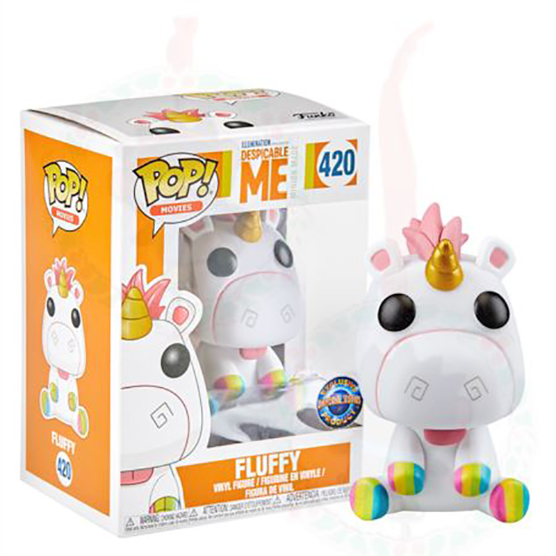 Universal Funko Pop Figure - Fluffy - Despicable Me