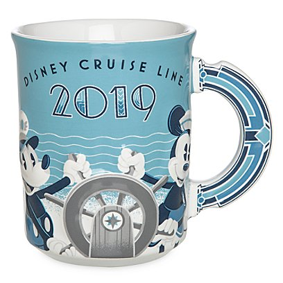Disney Coffee Cup - Disney Cruise Line 2019 Mickey Mouse