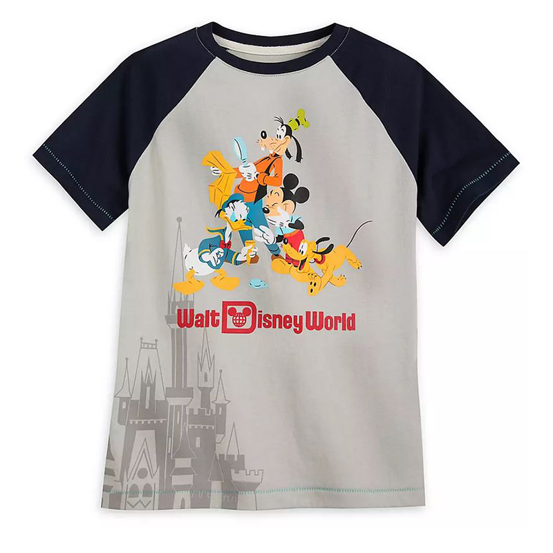 Disney Boys Shirt - Mickey Mouse & Friends - Walt Disney World
