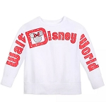 Disney Women's Pullover Shirt - Minnie Mouse - Walt Disney World