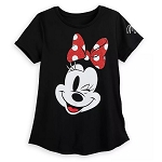 Disney Women's Shirt - Minnie Mouse Fashion T-Shirt