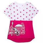Disney Women's Shirt - Minnie Mouse on Main Street