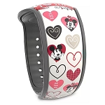 Disney MagicBand 2 Bracelet - Mickey and Minnie Mouse Valentine's Day - Limited Edition