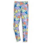Disney Women's Leggings - Minnie Mouse Balloons - Gray