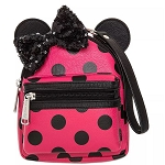 Disney Loungefly Bag - Minnie Mouse Polka Dot - Mini Backpack Wristlet