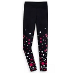 Disney Women's Leggings - Minnie Mouse Bow and Polka Dots