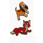 Disney Pin Set - The Fox & The Hound