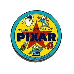 Disney Pin - The World of Pixar - Disney Parks