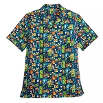 Disney Men's Woven Shirt - Pixar