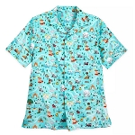 Disney Men's Woven Shirt - Disney Park Life