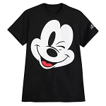 Disney Men's Shirt - Mickey Mouse Winking