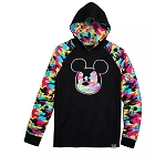 Disney Men's Pullover Hoodie - Mickey Mouse - Camouflage