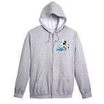 Disney Adult Zip Up Hoodie - Mickey Mouse & Friends - Walt Disney World