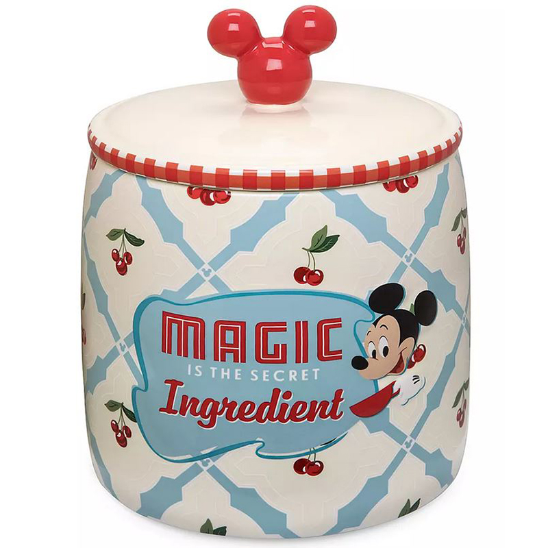 Disney Cookie Jar - Mickey and Minnie Mouse - Retro