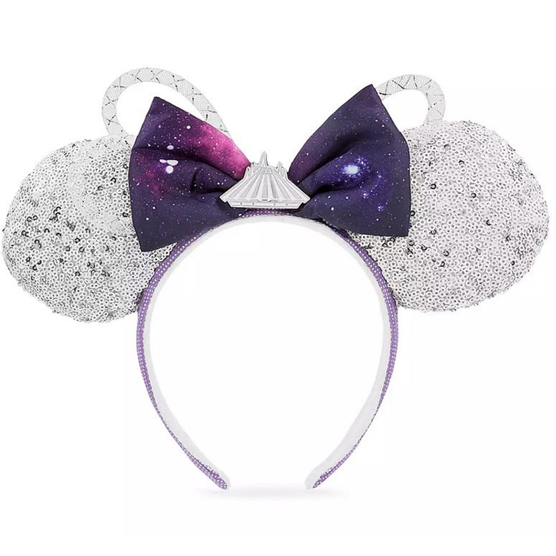 Disney Minnie Ear Headband - Minnie Mouse The Main Attraction - Space Mountain - Limited Release