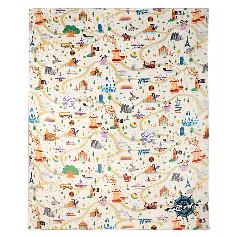 Disney Throw Blanket - Mickey Mouse & Friends - Walt Disney World