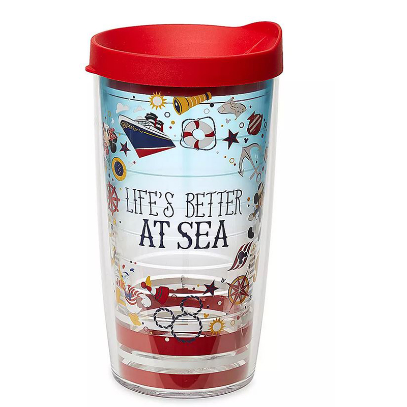 Disney Tervis Tumbler - Captain Mickey & Friends - Disney Cruise Line