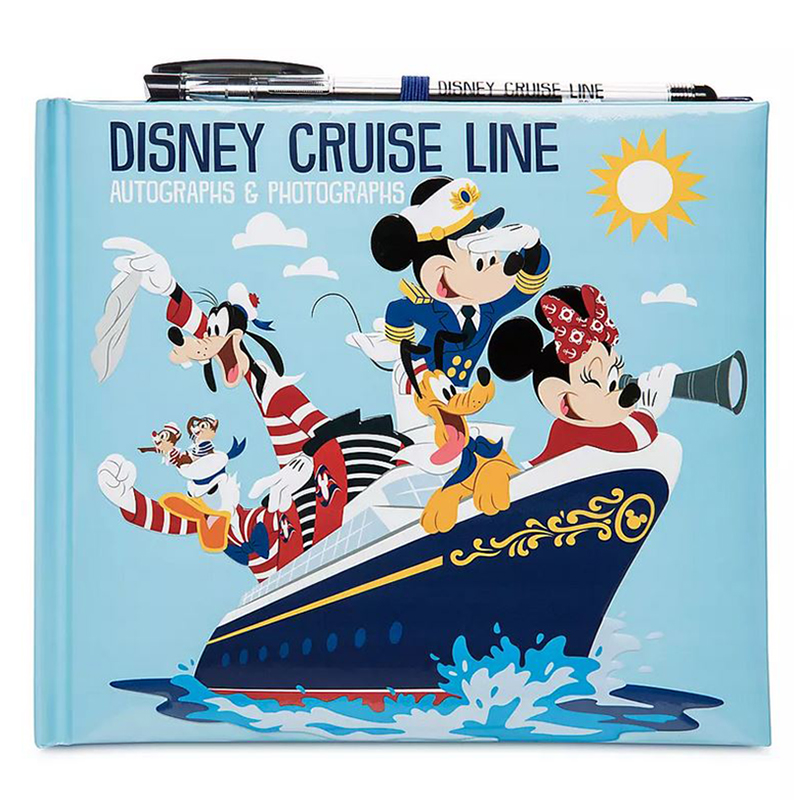 Disney Autograph & Photo Book - Mickey & Friends - Disney Cruise Line