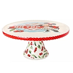 Disney Cake Stand - Mickey and Minnie Mouse - Retro