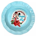 Disney Pie Dish - Mickey and Minnie Mouse - Retro