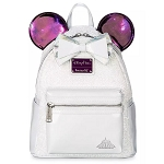 Disney Loungefly Bag - Minnie Mouse The Main Attraction - Space Mountain - Mini Backpack