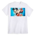 Disney Adult Shirt - Mickey & Minnie Mouse Kiss