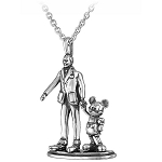 Disney Rebecca Hook Necklace - Walt Disney & Mickey Mouse Partners
