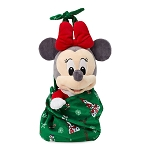 Disney Babies Plush - Baby Holiday Minnie with Blanket Pouch - 1st Christmas Castle