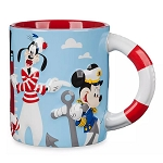 Disney Coffee Cup Mug - Mickey & Friends - Disney Cruise Line