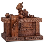 Disney Olszewski Heirloom Box - Pinocchio on Geppetto's Workbench