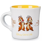 Disney Coffee Cup Mug - Chip & Dale Diner - Disney Cruise Line