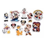Disney Stateroom Door Magnet Set - Captain Mickey Mouse & Crew - Disney Cruise Line