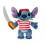 Disney Plush - Stitch - Pirates of the Caribbean - Disney Cruise Line - 10''