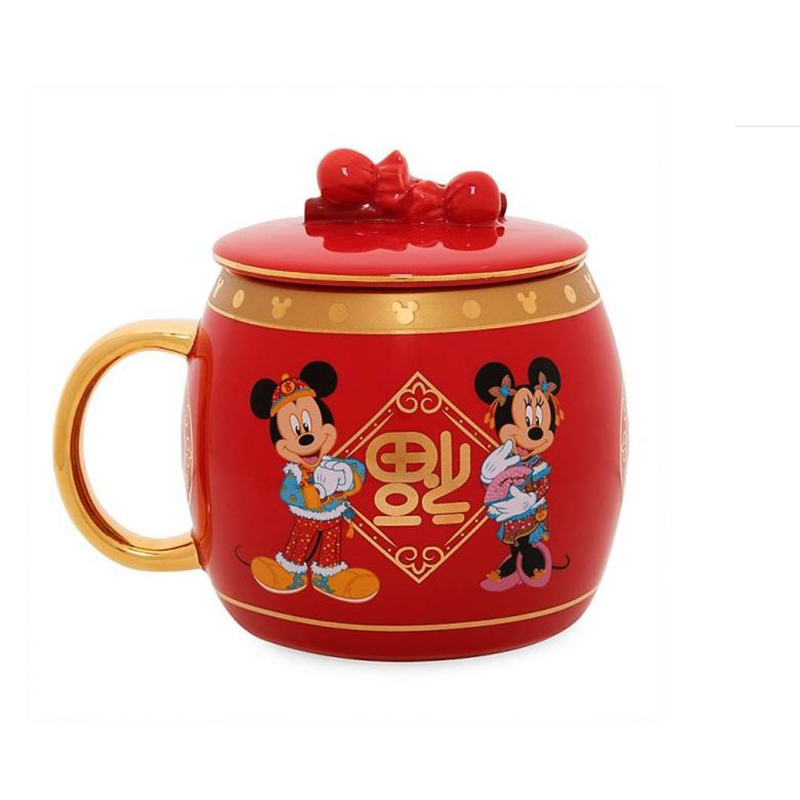 mickey and minnie lunar new year mug