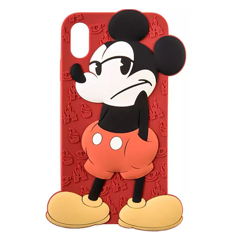 Disney Silicone iPhone XS Max Case - Mickey Mouse