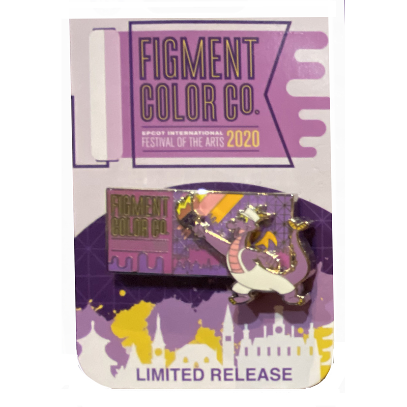 Disney Pin - Festival of the Arts - Figment Color Co. - Figment Painting