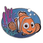 Disney Finding Nemo Pin - Smiling Nemo Swimming