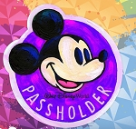 Disney Passholder Magnet - Festival of the Arts 2020 - Mickey Mouse