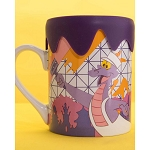 Disney Coffee Cup Mug w/ Lid - Epcot Festival of the Arts 2020 - Figment Color Co.