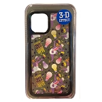Disney iPhone X / Xs / 11 Pro Case - Figment - Epcot Festival of the Arts 2020 - Clear / 3D Effect